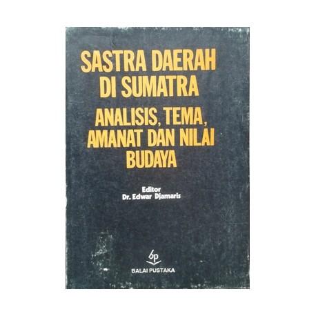Sastra Daerah di Sumatra