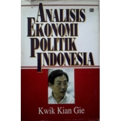 Analisis Ekonomi Politik Indonesia