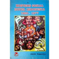 Konteks Sosial Novel Indonesia 1920-1977