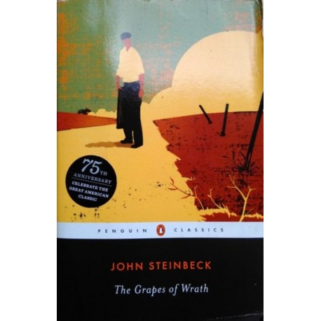 a review of john steinbecks novel the grapes of wrath John steinbeck's the grapes of wrath, tom joad and his family are forced from their farm in the depression-era oklahoma dust bowl and set out for california along with thousands of others in search of jobs, land, and hope for a brighter future.